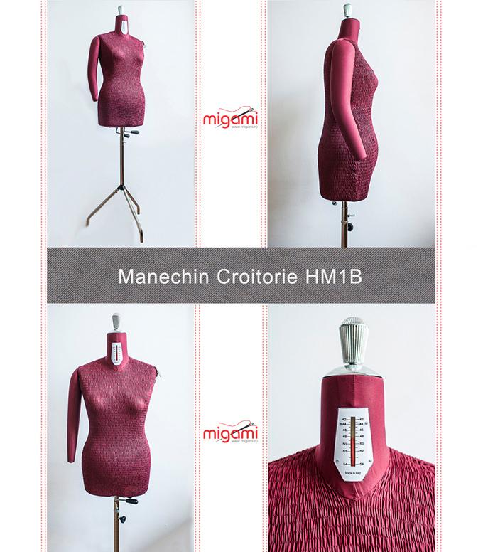 MANECHIN CROITORIE CU BRAT HM1B MIGAMI